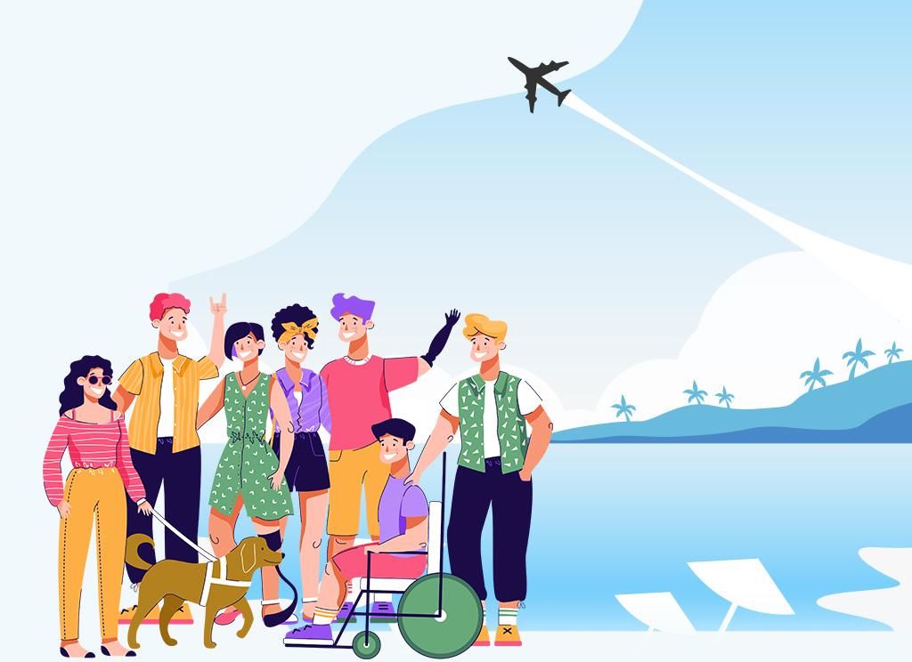 Imagen turismo inclusivo